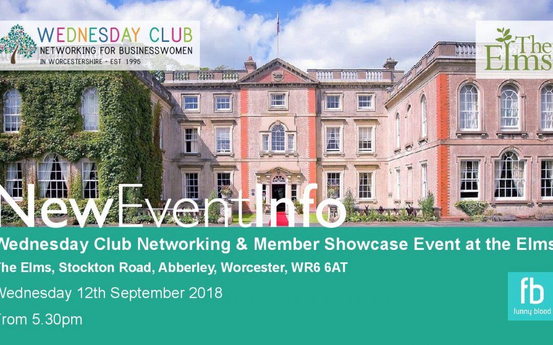 Wednesday Club showcase